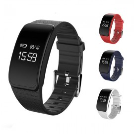 A59 Heart Rate Blood Pressure Oxygen Monitor Pedometer Sport Smart Bracelet For iphone X 8 SamsungS8