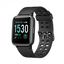 Bakeey  Full Touch Gorilla Glass Screen Wristband Nordic 52840 Real Time Heart Rate Monitor Smart Watch