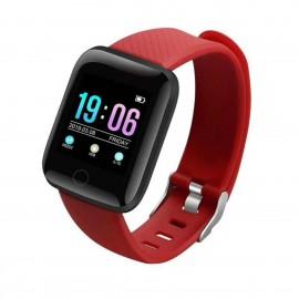 Bakeey 1.3' Dynamic UI HR Blood Pressure Social APP Notification Anti-lost Alarm Smart Watch