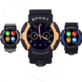 A10 Waterproof Sports Smart Watch MT2502 With bluetooth G-sensor For Android iOS Phone