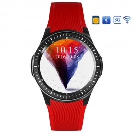 DM368 1.39 Inch Display Android 5.1 SIM MTK 6580 Quad Core bluetooth Heart Rate Monitor Smart Watch
