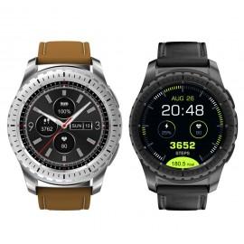 KINGWEAR KW28 1.3 Inch MTK2502 Heart Rate Sleep Monitor bluetooth Sport Smart Watch