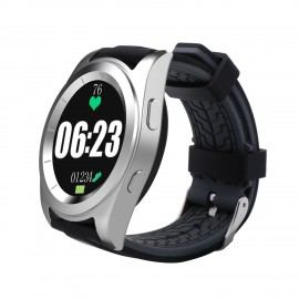 DT NO.1 G6 MT2502 240 * 240 Pixels 380 mAh bluetooth 4.0 Heart Rate Smart Watch