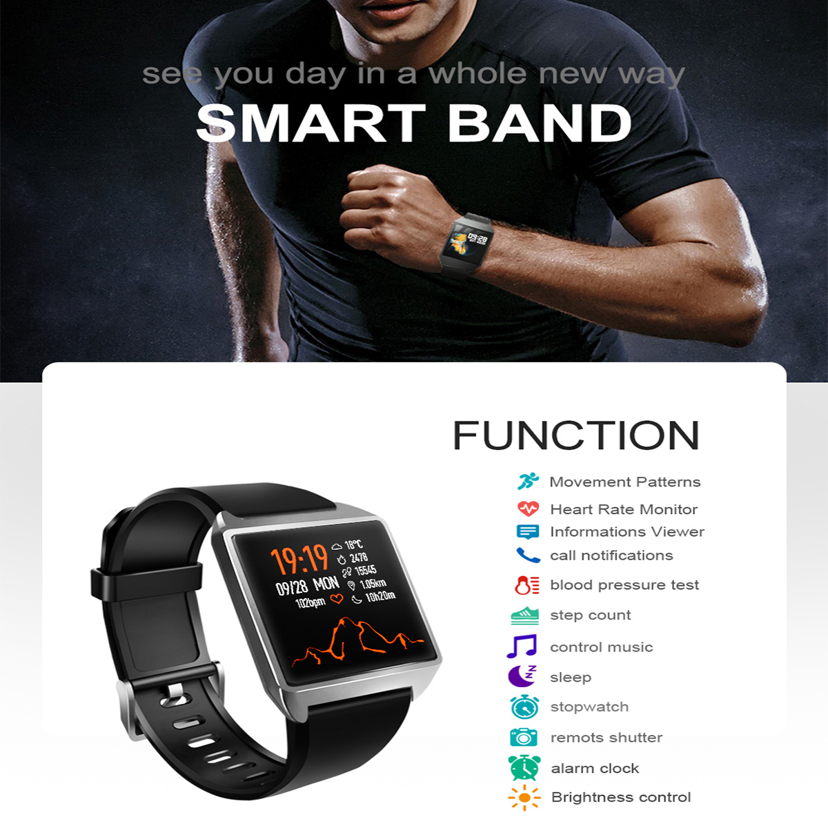Bakeey-VO376C-13-HR-Blood-Pressure-Monitor-All-day-Activity-Record-IP68-Brightness-Control-Smart-Wat-1540449