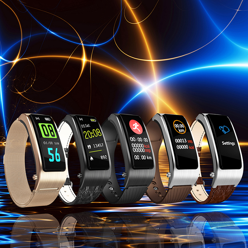 Bakeey-iTlak-B5-HR-Blood-Pressure-Oxygen-Siri-Weather-Dynamic-Speaker-Smart-Bracelet-and-Earphones-1350187